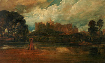 Windsor Castle, Attributed To Peter Dewint Art Print by Litz Collection