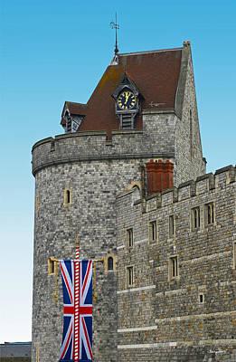 Photograph - Windsor Castle Curfew Tower by Shanna Hyatt