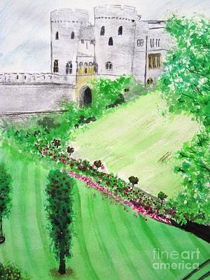 Painting - Windsor Castle by Denise Railey