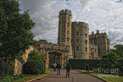 Photograph - Windsor Castle by Gina Cormier