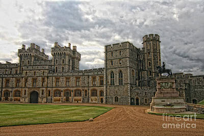 Photograph - Windsor Castle II by Gina Cormier