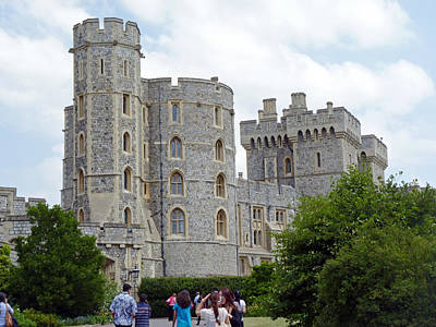 Thomas Kinkade Rights Managed Images - Windsor Castle Royalty-Free Image by Tony Murtagh