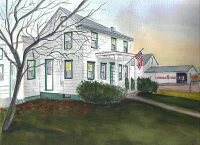 Painting - Windsor Farm by Clara Sue Beym