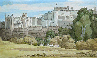 Painting - Windsor by Celestial Images