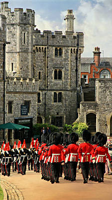 Changing Of The Guard Photograph - Windsor Parade by Stephen Stookey