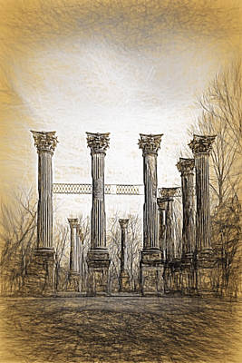 Photograph - Windsor Ruins by Maria Coulson