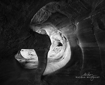 Photograph - Windstone Cave  Nevada by Nathan Mccreery