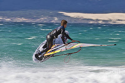Surf Lifestyle Photograph - Windsurfing by Heiko Koehrer-Wagner