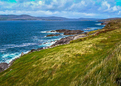 Photograph - Windswept Coast Of Ireland's Dunmanus Bay by James Truett