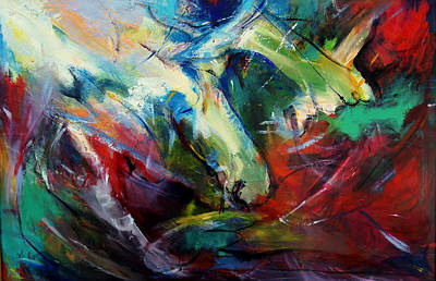 Painting - Windswept  by Marina R Burch