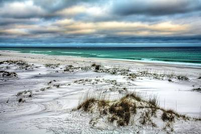 Windswept On Okaloosa Island Art Print