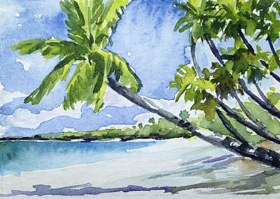 Haleiwa Painting - Windswept by Stacy Vosberg