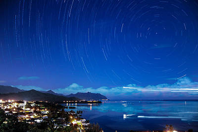 Photograph - Windward Startrails by Dan McManus