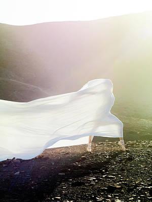 Balance Photograph - Windy Ballerina by Henrik Sorensen