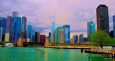 Photograph - Windy Cityscape II by Christine S Zipps