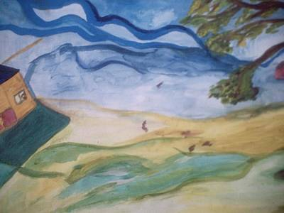 Painting - Windy Day by Shea Holliman