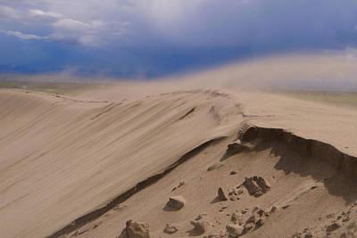 Photograph - Windy Dunes by Jon Emery