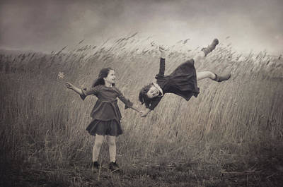 Wind Photograph - Windy Fairy Tales by Svetlana Bekyarova