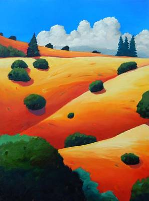 Windy Hill Trip Panel 2 Art Print