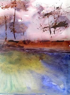 Windy Art Print by Marsden Burnell