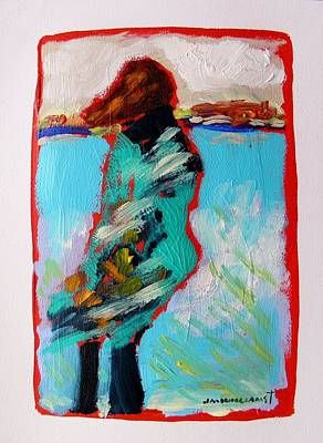 Jmwportfolio Painting - Windy Morning by John Williams