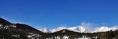 Jerry Sodorff Royalty-Free and Rights-Managed Images - Windy Peaks 4385 by Jerry Sodorff