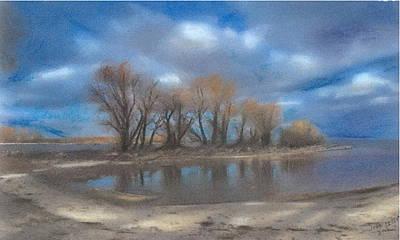Windy Point Art Print