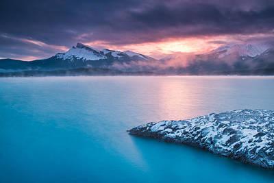 Kootenay Lake Photograph - Windy Point Sunrise by Michael Blanchette