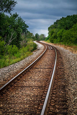 Photograph - Winding Track by Ron Pate