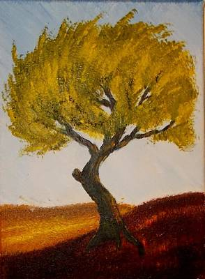 Painting - Windy Tree by Zeke Nord
