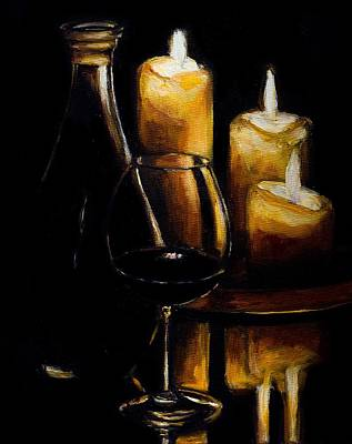 Wine And Ambiance Original by Kevin Richard