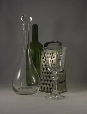Photograph - Wine And Cheese Stuff by Judy Hall-Folde