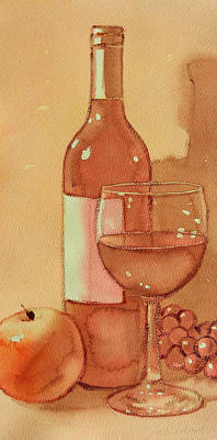 Painting - Wine And Sunshine One by Joe Schneider