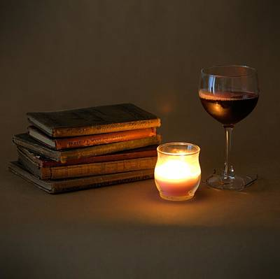 Photograph - Wine And Wonder C - Square by Gordon Elwell