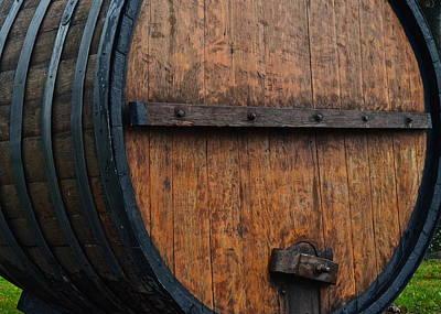 Wine Aplenty Art Print by Frozen in Time Fine Art Photography