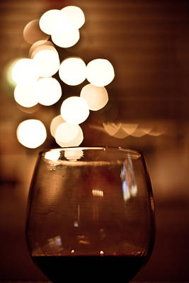 Photograph - Wine At Christmas Time by Anthony Doudt