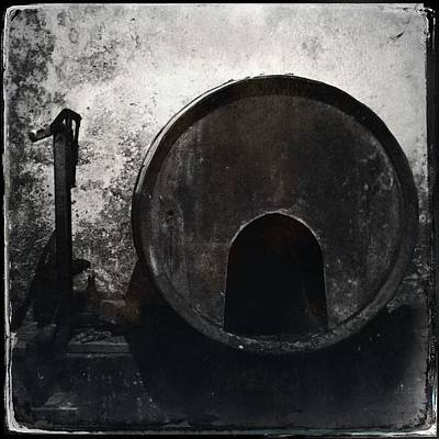 Wine Barrel Art Print by Marco Oliveira