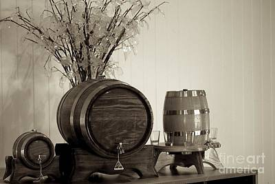 Wine Barrels Original by Alanna DPhoto
