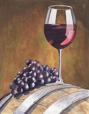 Wine Beauty Original by Julie Senf