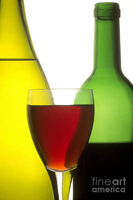 Indoor Photograph - Wine by Bernard Jaubert