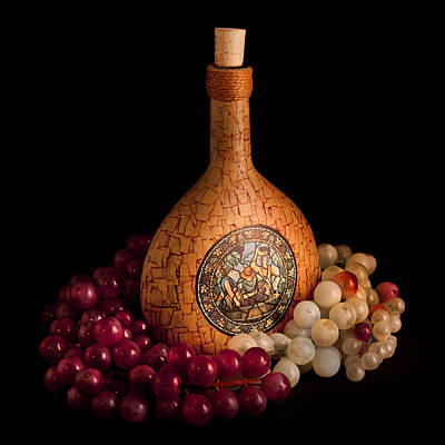 Photograph - Wine Bottle by Bill Wakeley