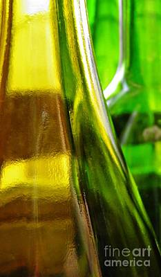 Photograph - Wine Bottles 11 by Sarah Loft
