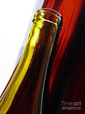 Photograph - Wine Bottles 13 by Sarah Loft