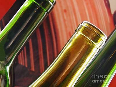 Photograph - Wine Bottles 14 by Sarah Loft