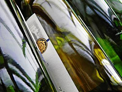 Photograph - Wine Bottles 15 by Sarah Loft