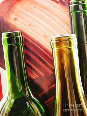 Photograph - Wine Bottles 16 by Sarah Loft