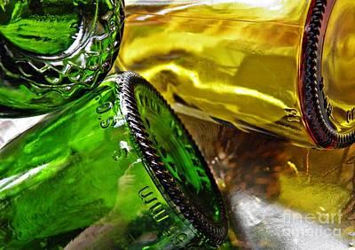 Photograph - Wine Bottles 18 by Sarah Loft