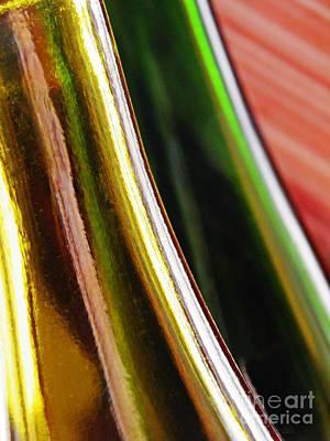 Photograph - Wine Bottles 19 by Sarah Loft