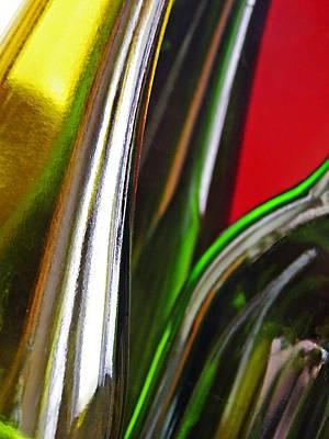 Photograph - Wine Bottles 9 by Sarah Loft