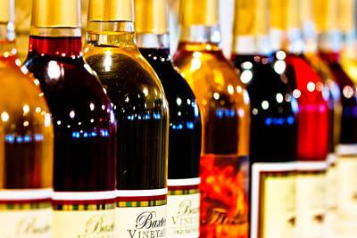 Photograph - Wine Bottles by Ben Graham